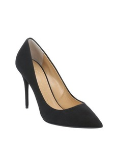Giuseppe Zanotti black suede pointed toe pumps