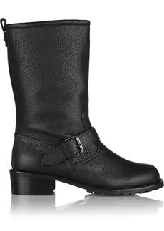 Giuseppe Zanotti Blok textured-leather boots