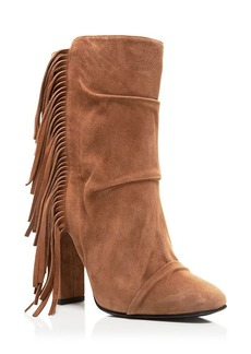Giuseppe Zanotti Bloomingdale's Exclusive Alabama Fringe Booties