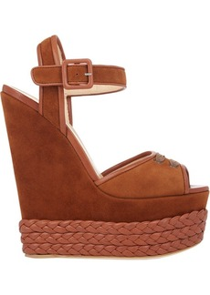 Giuseppe Zanotti Braided Platform-Wedge Sandals