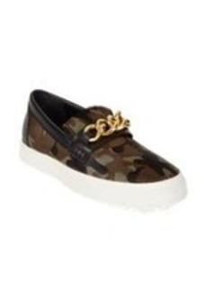Giuseppe Zanotti Camo-Print Haircalf Slip-On Sneakers