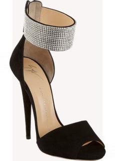 Giuseppe Zanotti Crystal Ankle Cuff Sandal