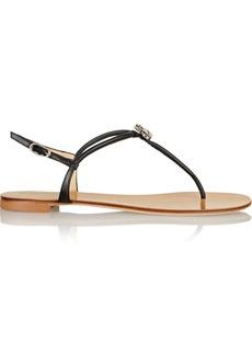 Giuseppe Zanotti Crystal-embellished leather sandals