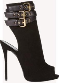 Giuseppe Zanotti Cutout Ankle-Strap Boots
