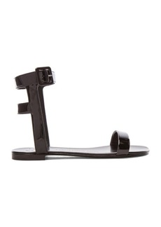 """Giuseppe Zanotti <div class=""""product_name"""">Patent Leather Sandals</div>"""
