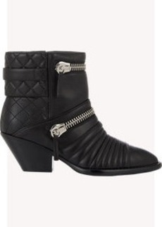 Giuseppe Zanotti Double-Zip Quilted Boots