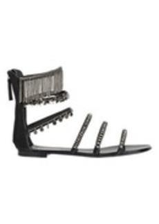 Giuseppe Zanotti Embellished Strappy Flat Sandals