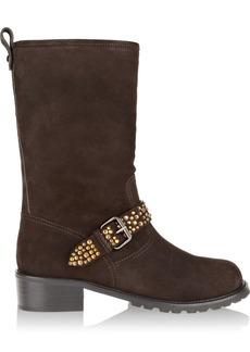 Giuseppe Zanotti Embellished suede boots