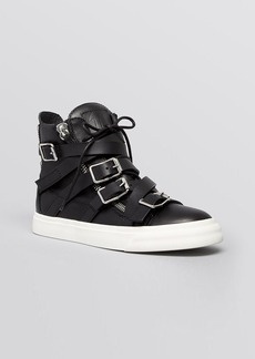 Giuseppe Zanotti High Top Sneakers - London Buckle