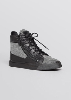 Giuseppe Zanotti High Top Sneakers - London Nailhead Stud