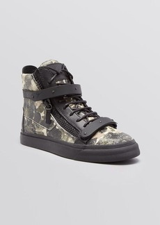 Giuseppe Zanotti Lace Up High Top Sneakers - London Camo