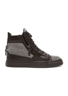 Giuseppe Zanotti London Leather Sneakers