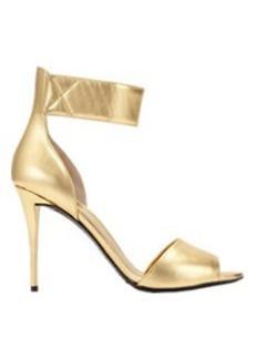 Giuseppe Zanotti Metallic Ankle-Strap Sandals