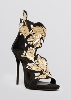 Giuseppe Zanotti Open Toe Platform Evening Sandals - Coline High Heel