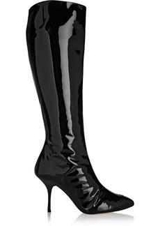 Giuseppe Zanotti Patent-leather knee boots
