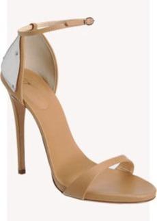Giuseppe Zanotti Plated Heel Sandal