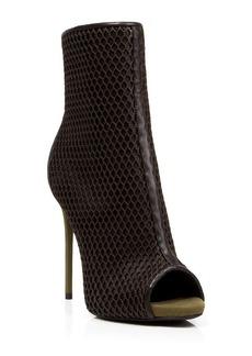 Giuseppe Zanotti Platform Booties - Coline Mesh High Heel