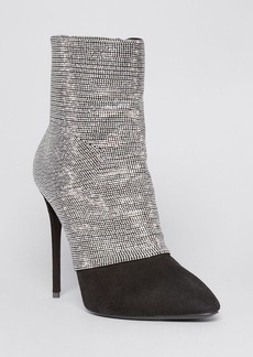 Giuseppe Zanotti Pointed Toe Booties - Olinda High Heel