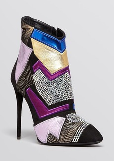 Giuseppe Zanotti Pointed Toe Platform Booties - Olinda High Heel