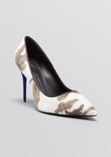 Giuseppe Zanotti Pointed Toe Pumps - Yvette Camo High Heel
