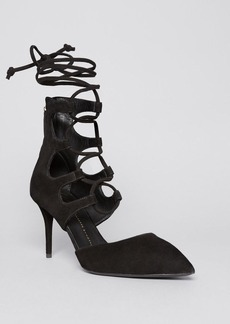 Giuseppe Zanotti Pointed Toe Pumps - Yvette High Heel