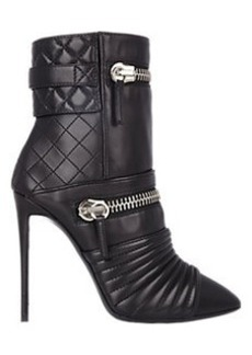 Giuseppe Zanotti Quilted Moto Ankle Boots