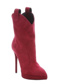 Giuseppe Zanotti rapa suede 'Emy 110' pull-on platform stiletto ankle booties