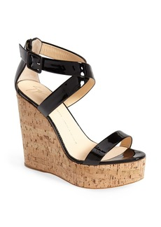 Giuseppe Zanotti 'Roz' Platform Wedge Sandal (Women)