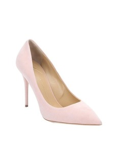 Giuseppe Zanotti shell suede pointed toe pumps