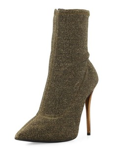 Giuseppe Zanotti Shimmery Pointed-Toe Bootie