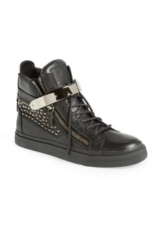 Giuseppe Zanotti Studded High Top Sneaker (Women)