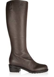 Giuseppe Zanotti Textured-leather knee boots