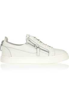 Giuseppe Zanotti Textured-leather sneakers