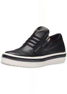 Giuseppe Zanotti Women's RW5148 Fashion Sneaker, Nappa Neropaco, 8 M US
