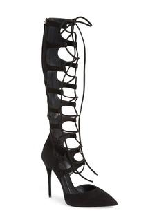 Giuseppe Zanotti 'Yvette' Lace-Up Tall Boot (Women)