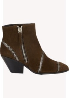 Giuseppe Zanotti Zipper-Trim Ankle Boots