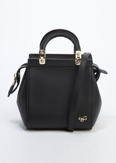 black calfskin leather 'House de Givenchy' convertible tote