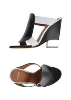 GIVENCHY - Open-toe mule