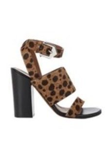 Givenchy Animal-Print Ankle-Strap Sandals