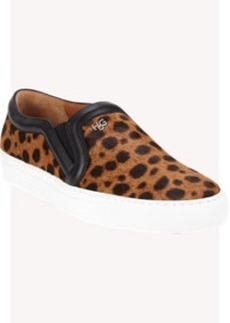 Givenchy Animal-Print Haircalf Skate Sneakers