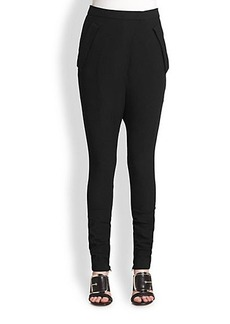 Givenchy Ankle-Zip Harem Trousers