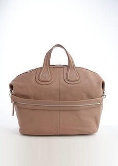 Givenchy beige leather 'Nightingale' large handbag