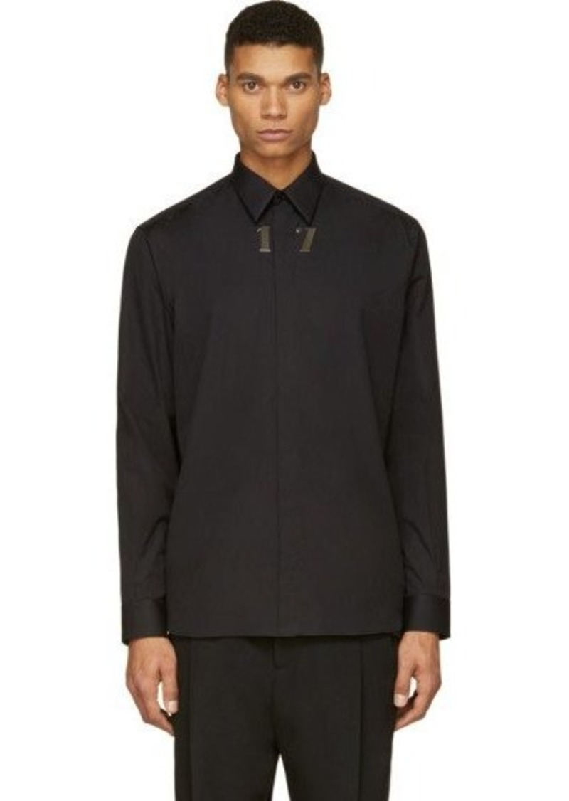 givenchy givenchy black columbian fit 17 shirt dress shirts shop it to me. Black Bedroom Furniture Sets. Home Design Ideas