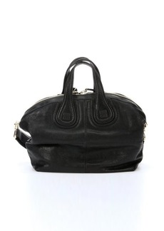 Givenchy black lambskin 'Nightingale' small satchel