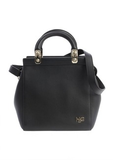 Givenchy black leather leather 'HDG' convertible tote