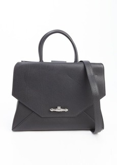 Givenchy black leather medium 'Obsedia' convertible top handle bag