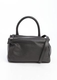 Givenchy black leather medium 'Pandora' convertible top handle shoulder bag