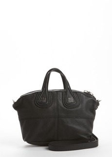 Givenchy black leather 'Nightingale' convertible mini satchel