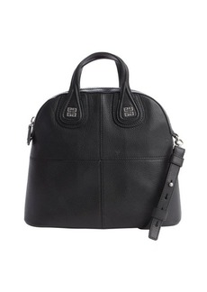 Givenchy black leather 'Nightingale' convertible tote bag