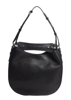 Givenchy black leather 'Obsedia' medium hobo shoulder bag